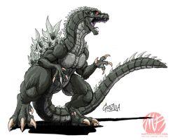 Godzilla Neo - GODZILLA by KaijuSamurai
