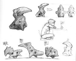 Ocarina Critters by draconicaeaeon