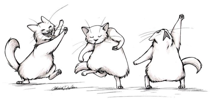 Dancing Cats by CatusSnake
