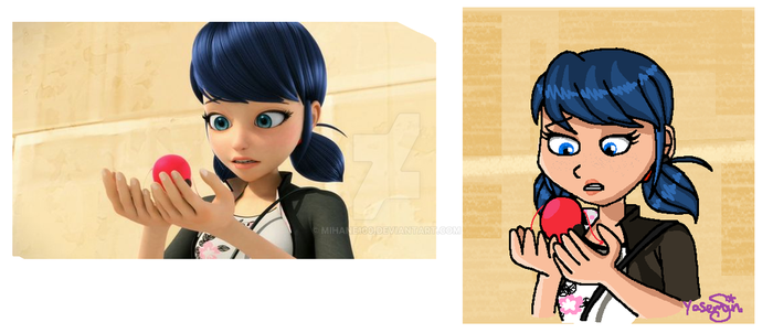 Miraculous Redraw by mihane100