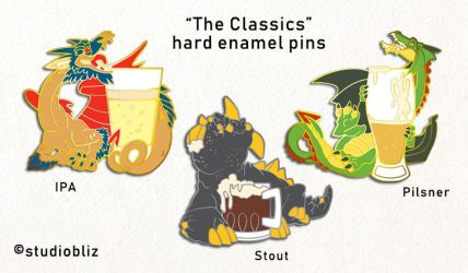 Drachtoberfest Pins set 1 by syrusbLiz