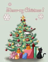 Me(ow)rry Christmas ! by Salayanara