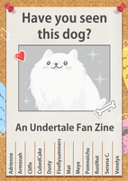 The Annoying Dog Zine by CubedCake