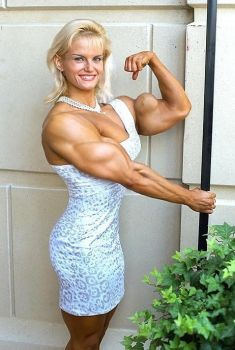 bicep blondie by cribinbic