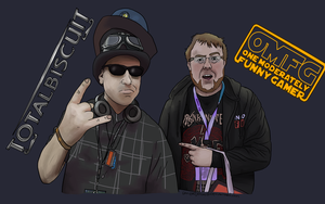 OMGFCATA and Totalbiscuit by gamertjecool