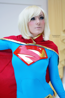 Jessica Nigri as Supergirl - New 52 Version II by EnchantedCupcake