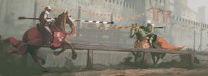 Jousting by QuintusCassius