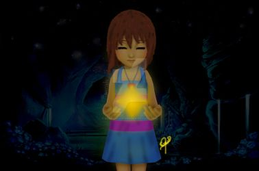 Frisk - UNDERTALE - ~Are You A Star?~ by SoraKHForever