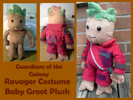 Guardians of the Galaxy Baby Groot Plush by methuselah-alchemist