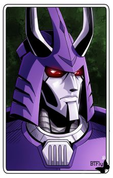 CYCLONUS portrait by TheButterfly