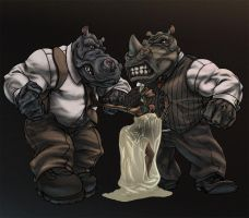 hip vs obi one by KevinHarrell