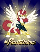 Faustilicious Poster 8.5x11 by tygerbug