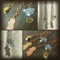 Winged Bag Charms by MahouBunnyBell