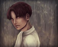 Levi sketch portrait by J-Melmoth