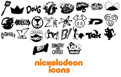 Nickelodeon universe Icons/Logos by WaRrior9100