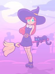 Cute Pastel Witch by Furboz