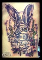 Hare by state-of-art-tattoo