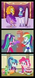 Equestria Girls and the Dazzlings by SapphireGamgee