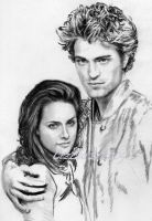 Another Kristen and Robert-WIP by CezLeo