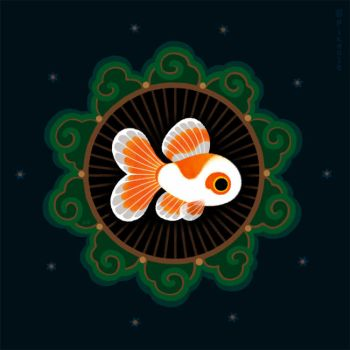 Butterfly goldfish by pikaole
