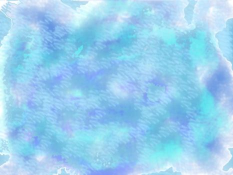 Abstract blue with cloudiness by leosthenerd