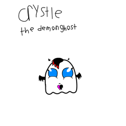 Crystle The Demon Ghost by kingamegamegame12