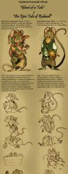 Ghost of a Tale vs. An Epic Tale of Redwall by FortunataFox