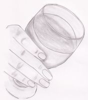 the glass of what? by AmaranthLevana