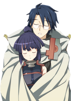 Log Horizon Shiroe and Akatsuki PNG by AwesomePopularGirl