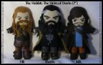 The Hobbit: Heirs of Durin Plush Set by StitchedAlchemy