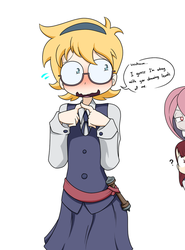 Lewding the Lotte by Sandwich-Anomaly