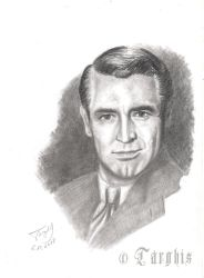 Cary Grant by Targhis