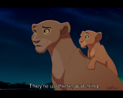 They're up there, watching. -Fake screenshot by OnyxShiShi