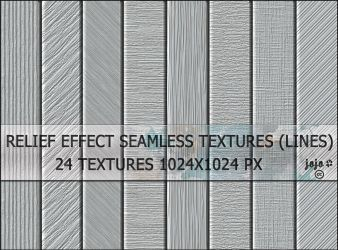Relief effect seamless textures (lines) by jojo-ojoj