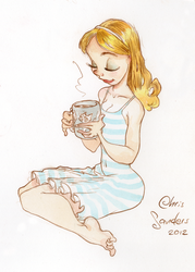 Mug of coffee in the AM by alohalilo