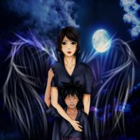 I will be your guardian angel... by Kazemye
