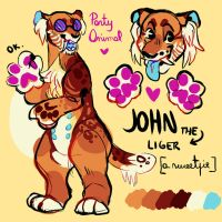 jHON THE LIGER isnt hi m perfect ? ? by codds
