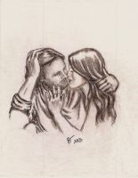 Aragorn and Arwen..Love in the Moments Between by rstrider9
