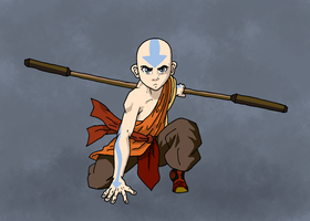 Avatar Aang by Juggernaut-Art