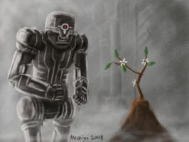 Does The Robot Need The Stem? by hectigo