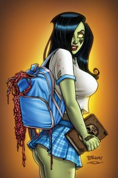 Zombie Tramp 35 Cover C by BillMcKay