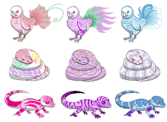 Easter Adopts - OPEN by SavannaEGoth