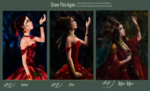 Farewell: Draw This Again 2015 by JulijanaM