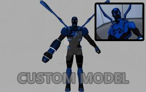 Blue Beetle (Young Justice / Custom Model) by Pitermaksimoff
