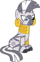 Zecora sitting by CloudyGlow