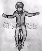 Unicycling Charlie by ForeverReid