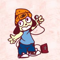 Another fanart from PaRappa by NicMangle