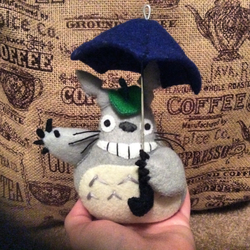 Totoro (felt doll) by MichelleBergeron