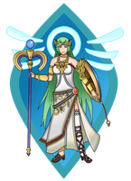 Kid Icarus : Palutena by MarioK9