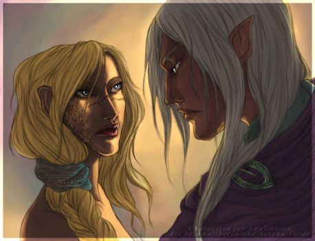 Collab : The Soldiers by Amaltheren